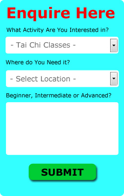 Tai Chi Enquiry Form
